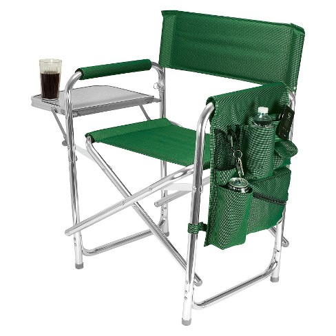Picnic Time Sports Chair with Table and Pockets - Hunter Green - image 1 of 3