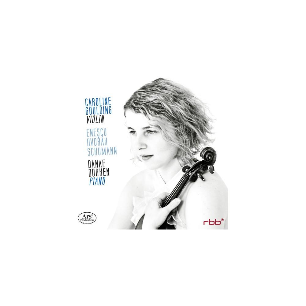 Caroline Goulding - Violin Sonatas (CD)