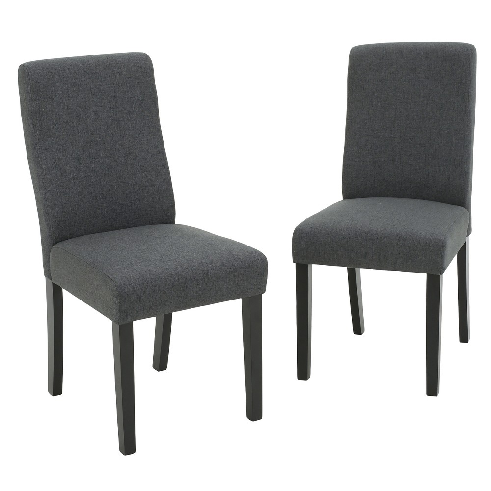 Corbin Dining Chair Set 2ct Dark Gray - Christopher Knight Home was $190.99 now $124.14 (35.0% off)