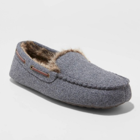 Men's Antonio Slippers - Goodfellow & Co.™ Gray - image 1 of 4