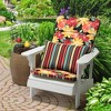 Abella Floral Adirondack Chair Cushion Ruby - Arden Selections - image 2 of 2