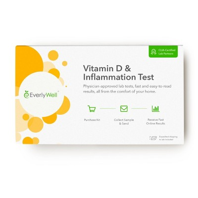 EverlyWell Vitamin D & Inflammation Test - Lab Fee Included