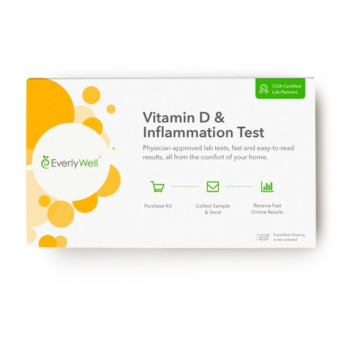 EverlyWell Vitamin D & Inflammation Test - Lab Fee Included - image 1 of 4