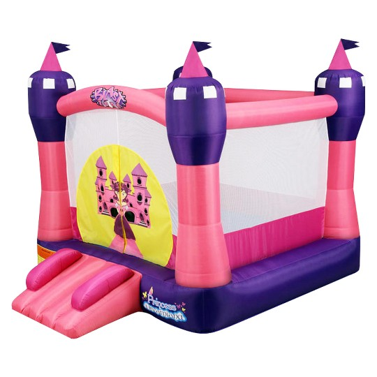 Blast Zone Princess Dreamland Inflatable Bounce Castle, Kids Unisex image number null