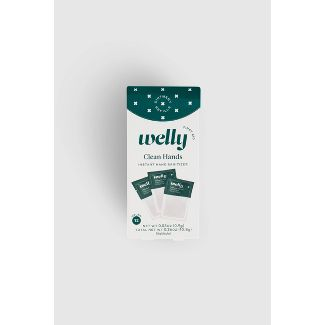 Welly First Aid Hand Sanitizer Replenishment Pack - 12ct