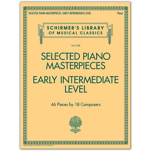 G. Schirmer Selected Piano Masterpieces - Early Intermediate Level Piano Collection Series Softcover - image 1 of 1
