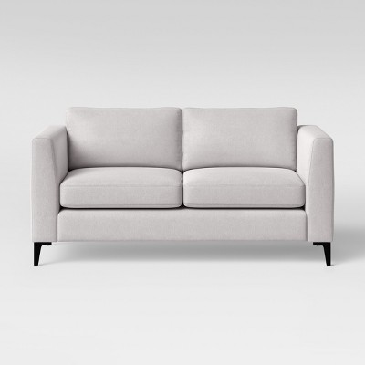 "71"" Medway Sofa with Metal Legs Light Gray - Project 62™"