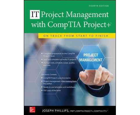 Project Management with CompTIA Project+ : On Track from Start to Finish (Paperback) (Joseph Phillips) - image 1 of 1