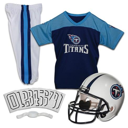 Franklin Sports Nfl Tennessee Titans Deluxe Uniform Set Target