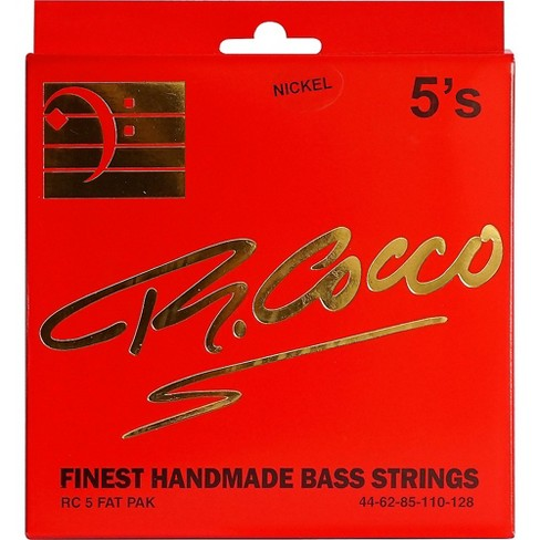 Richard Cocco RC5FATPN 5-String Nickel Electric Bass Guitar Strings - image 1 of 1