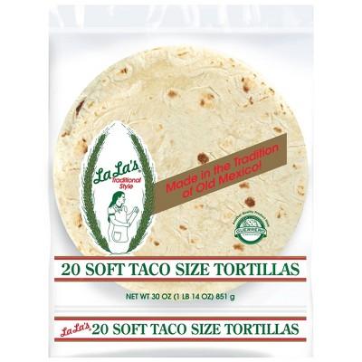 La La's By Guerrero Soft Taco tortillas - 20ct