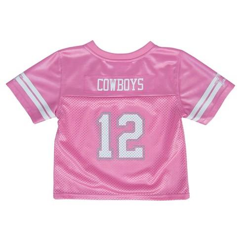 promo code f82f1 9158b Dallas Cowboys Toddler Girls' Jersey 3T