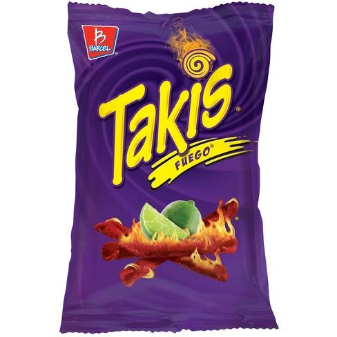 Barcel Takis Fuego Hot Chili Pepper & Lime Corn Snacks - 9.9oz - image 1 of 2