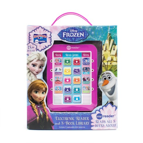 Disney Frozen Electronic Me Reader Story Reader and 8-book Boxed Set - image 1 of 14
