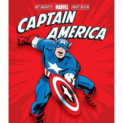 Captain America: My Mighty Marvel First Book - (A Mighty Marvel First Book) by  Marvel Entertainment (Board Book)