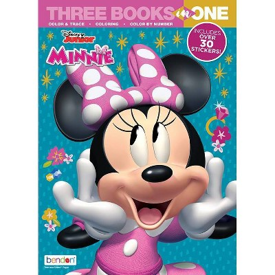 Minnie Mouse 3 in 1 Activity Book