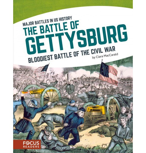 Battle of Gettysburg : Bloodiest Battle of the Civil War (Paperback) (Clara Maccarald) - image 1 of 1