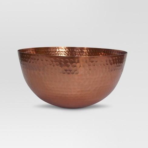 Decorative Bowl Copper - Threshold™ - image 1 of 1