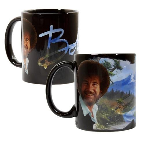 Surreal Entertainment Bob Ross Exclusive Color Change Ceramic Coffee Mug 12 ounces - image 1 of 6