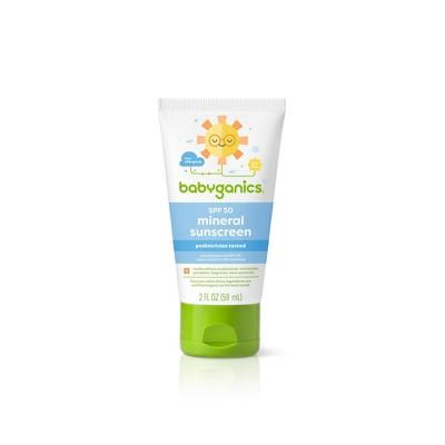 Babyganics Kids' Sunscreen Lotion with SPF 50 - 2 fl oz
