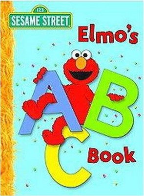 Elmo's ABC Book ( Big Bird's Favorites Brd Bks) by Deborah November (Board Book)