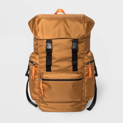 Men's Nylon Utility Backpack - Original Use™ Brown One Size - image 1 of 3