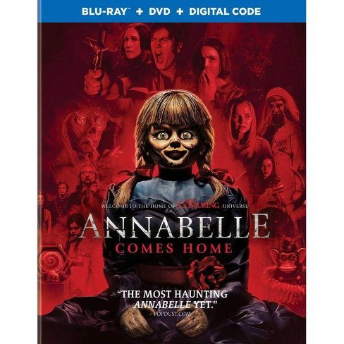 Annabelle Comes Home (Blu-Ray + DVD + Digital) - image 1 of 1