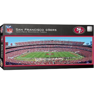 MasterPieces Inc San Francisco 49ers Stadium NFL 1000 Piece Panoramic Jigsaw Puzzle