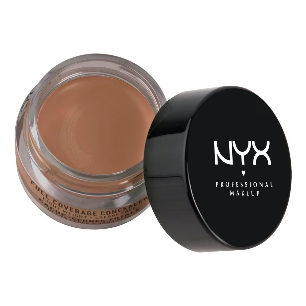 Nyx Professional Makeup Concealer Jar Nutmeg (Brown) - 0.21oz
