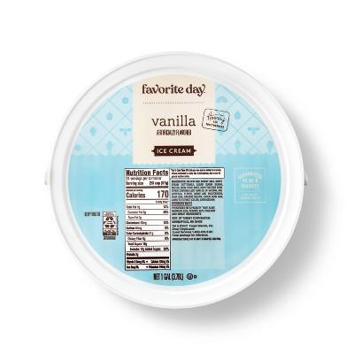 Vanilla Ice Cream - 128oz - Favorite Day™