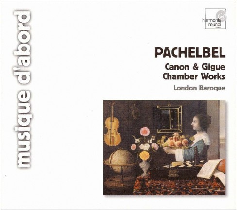 London baroque - Pachelbel:Canon & gigue chamber works (CD) - image 1 of 1