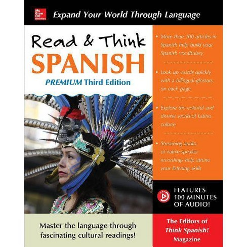 Read & Think Spanish, Premium Third Edition - 3rd Edition by  The Editors of Think Spanish (Paperback) - image 1 of 1