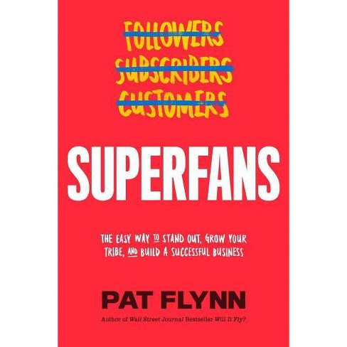 Superfans - by  Pat Flynn (Hardcover) - image 1 of 1