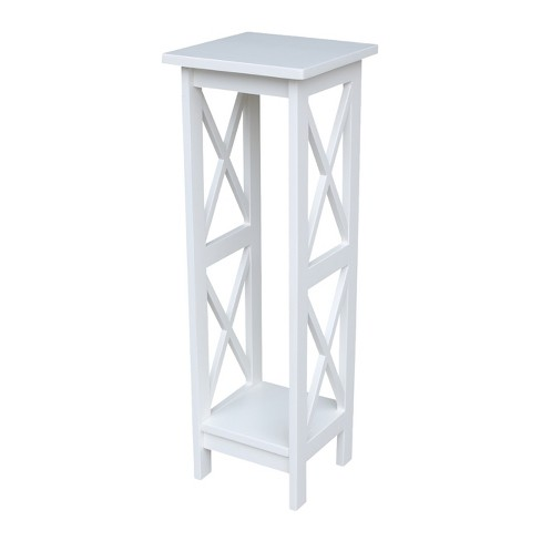 "36"" X - Sided Plant Stand - Snow White - International Concepts - image 1 of 4"