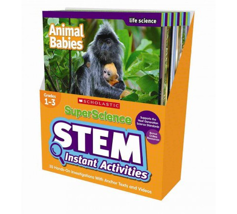 SuperScience Stem Instant Activities, Grades 1-3 : 30 Hands-on Investigations With Anchor Texts and - image 1 of 1