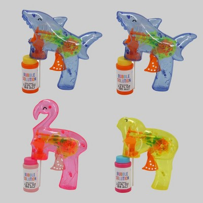 4ct Light Up Animal Bubble Blower with Bubbles  - Bullseye's Playground™