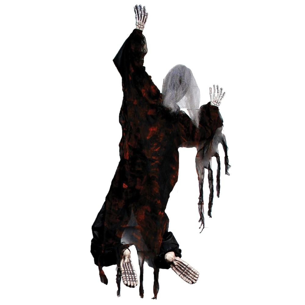 Image of 5' Halloween Climbing Zombie