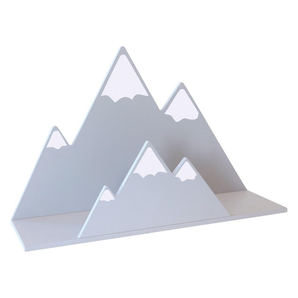 Image of Trend Lab Wall Shelf - Mountain Gray