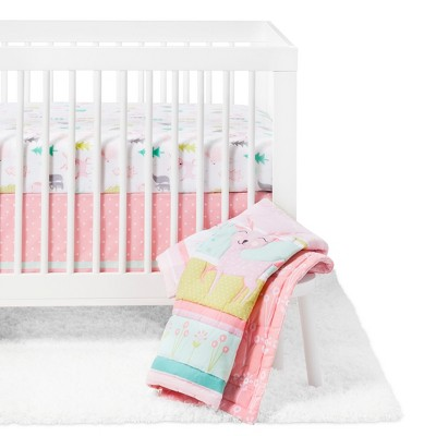 Crib Bedding Set Forest Frolic 4pc - Cloud Island™ - Pink