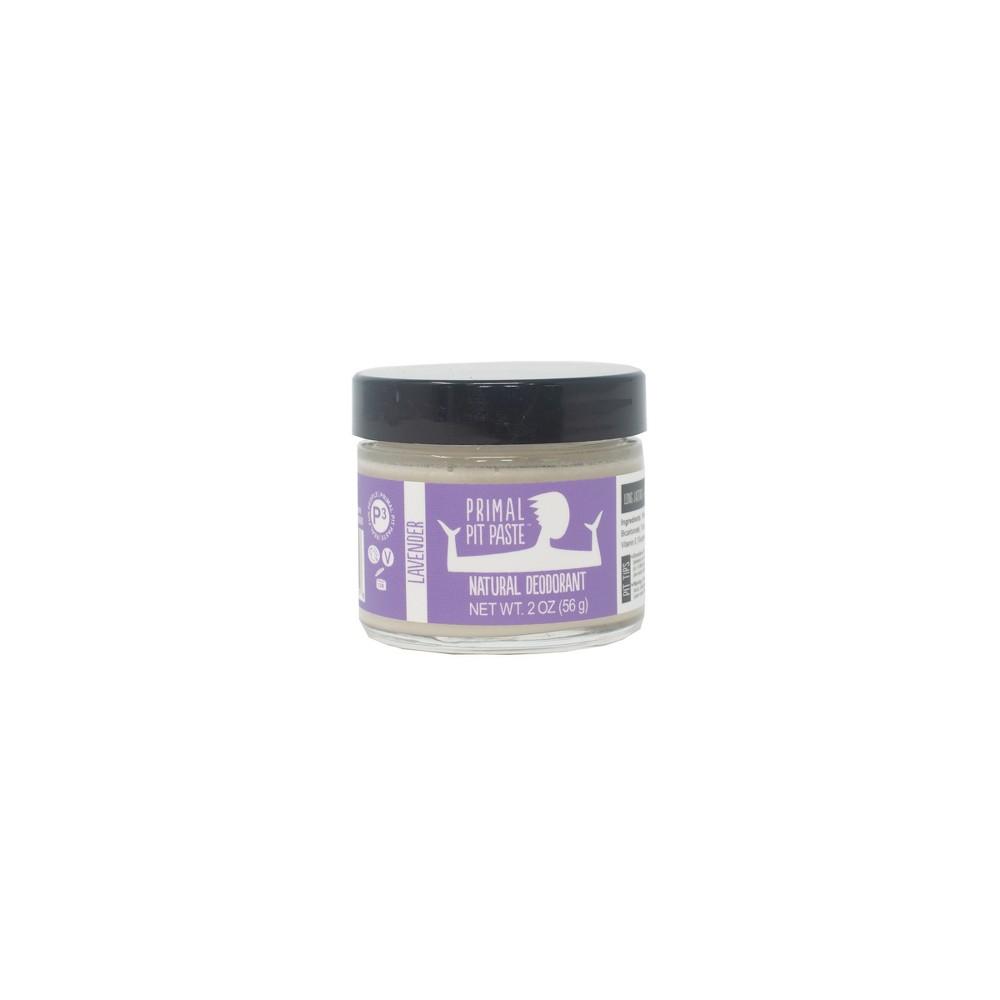 Primal Pit Lavender Natural Deodorant Paste - 2oz