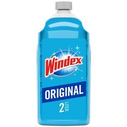 Windex Original Glass Cleaner Refill 67.6oz (2 Liter)