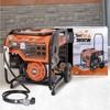 3.6KW Portable Power Generator Dual Fuel Orange - ETQ - image 3 of 4