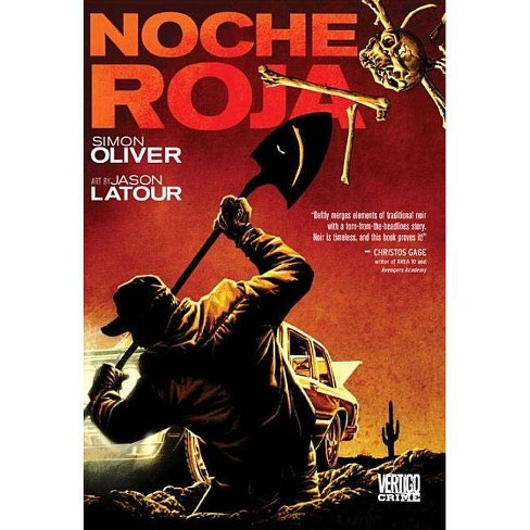Noche Roja - (Vertigo Crime (Hardcover)) by  Simon Oliver (Hardcover) - image 1 of 1