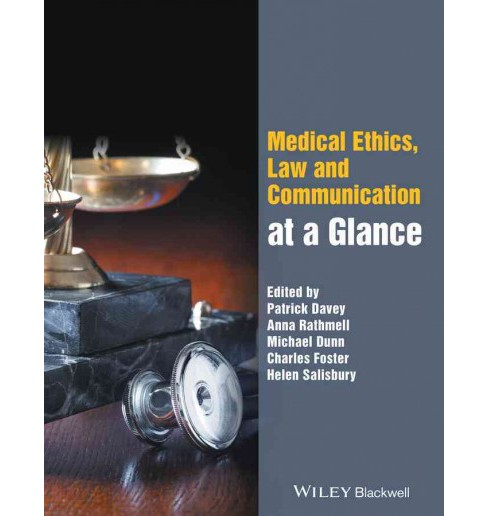 Medical Ethics, Law and Communication at a Glance (Paperback) - image 1 of 1