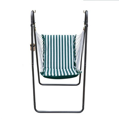 Soft Comfort Swing Chair & Stand with Sunbrella - Algoma