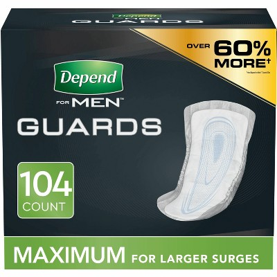 Depend Guards Incontinence Underwear for Men - Maximum Absorbency