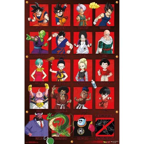 "34""x23"" Dragon Ball Z Anniversary Unframed Wall Poster Print - Trends International - image 1 of 2"