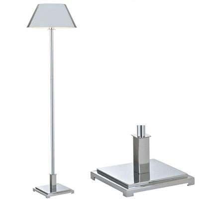 "60"" Roxy Metal Floor Lamp (Includes Energy Efficient Light Bulb) - JONATHAN Y"