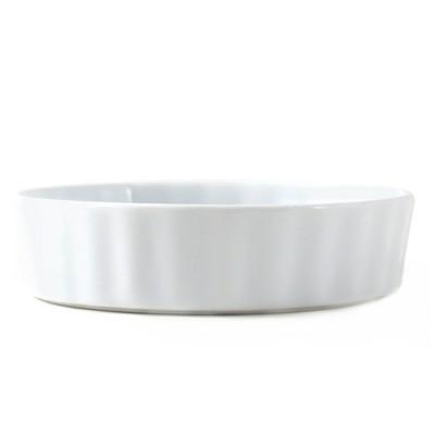 Omniware White Porcelain 4.5 Inch Creme Brulee Baking Dish