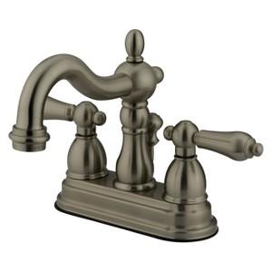 Heritage Bathroom Faucet Satin Nickel - Kingston Brass, Satin Nickle